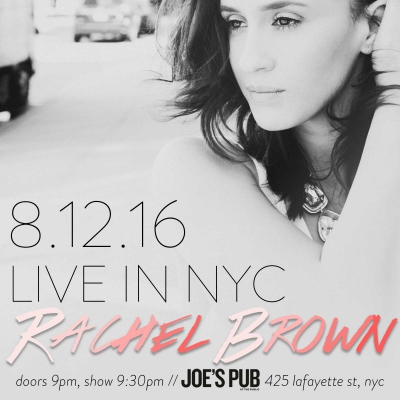 Joe's Pub - August 12, 2016