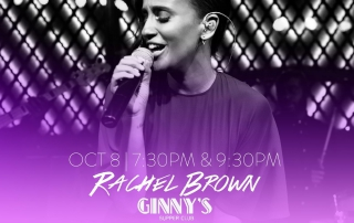 Ginny's Supper Club - October 8, 2016