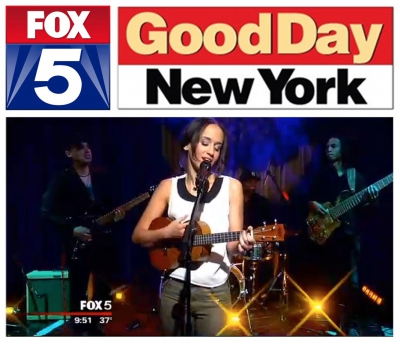 Performance and interview on Fox 5's Good Day New York