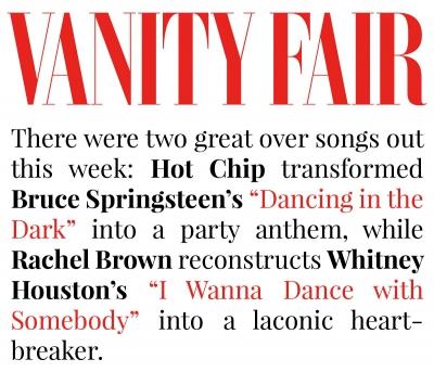 """Vanity Fair - """"Here's What's In Heavy Rotation This Week"""" - June 2015"""